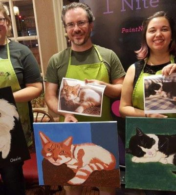 Paint Your Pet Portrait Friday Yappy Hour