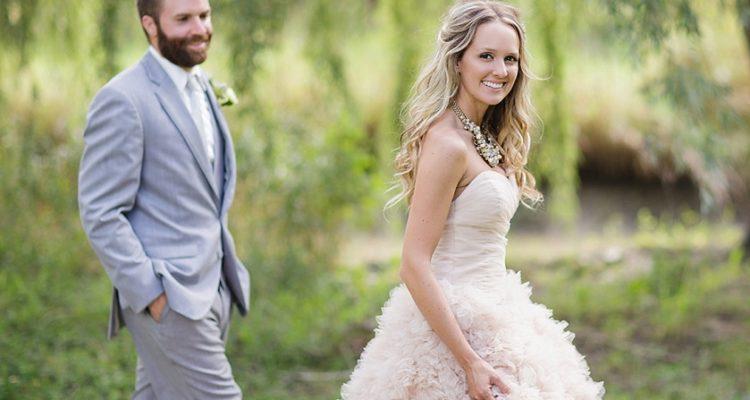 Eva & John Out-Door Wedding Shot