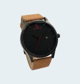Top Luxury Brand Casual Dark Quartz Watches